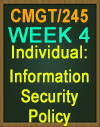CMGT/245 information Security Policy