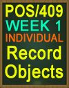 POS/409 Record Objects
