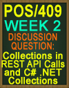 POS/409 Collections in REST API Calls and C# .NET Collections