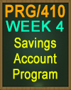 PRG/410 Savings Account Program