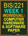 BIS/221 COMPUTER PURCHASE PAPER