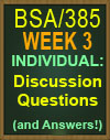 BSA/385 Software Engineering Management Tools