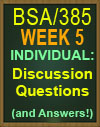 BSA/385 Software Testing Plan