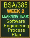 BSA/385 Software Engineering Process Plan