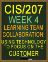 Learning Team CIS/207 Using Technology to Focus on the Customer