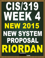cis 201 system evaluation week 4 Cis 207 week 5 learning team new system proposal.