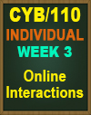CYB/110 SOCIAL NETWORK SECURITY CONFIGURING A SOCIAL NETWORK