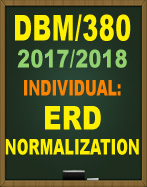DBM/380 Database Normalization Paper