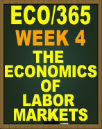 ECO/365 Week 4 ECO/365 Week 4 (New 2016/2017) 
