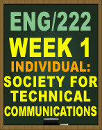Technical Communication Scavenger Hunt ENG222 Week 1