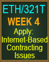 ETH/321 Apply: Internet-Based Contracting Issues