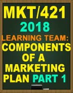 MKT/421 Strategy and Positioning Analysis Part 1