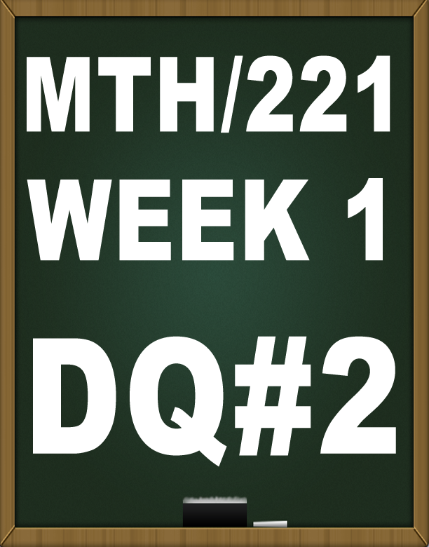 math221 week 5 quiz