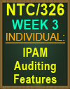 NTC/326 IPAM Auditing Features