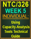 NTC/326 Using Capacity Analysis Tools Technical Guide