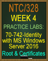 NTC/328 Deploying and Managing Certificate Authorities