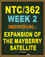 NTC362 Expansion of the Mayberry Satellite