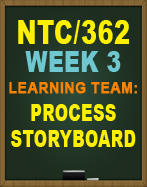 NTC/362 Learning Team: Process Storyboard