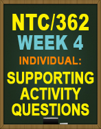 NTC/362 Week 4 Troubleshooting Tools Guide