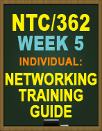 NTC/362 Networking Training Guide
