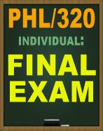phl 320 week 4 Study flashcards on phl 320 critical thinking and decision making final exam at cramcom quickly memorize the terms, phrases and much more cramcom makes it easy to get the grade you want.