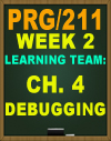 PRG/211 Learning Team Collaboration Debugging