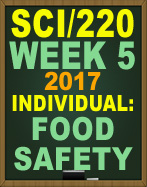 SCI/220 Food Safety Week 5