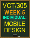 VCT305 Week 5 Mobile Design