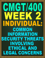 CMGT/400 WEEK 2 Social Network, cmgt400 Regulatory Standards