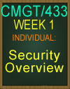 CMGT/433 Security Overview